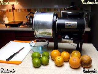 Rudomix - Exprimidor Extractor Naranjas Uso Rudo Industrial