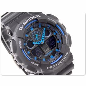 Relogio Casio G-shock Ga100-1a2dr - Original 12x Sem Juros