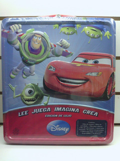 Libro Lata C/accesorios Disney Pixar Srj