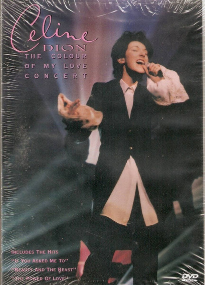 Dvd Celine Dion - The Colour Of My Love Concert - Novo***