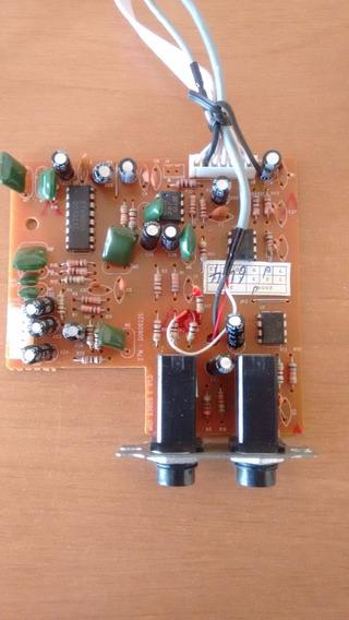 Placa De Microfone Videokê Raf 8380