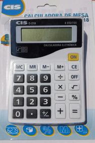 Calculadora De Mesa C-218 Pt/br Cis Sertic