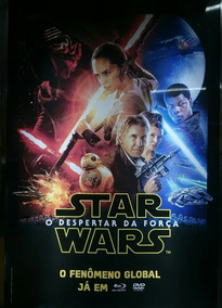Pôster Cartaz Star Wars - O Despertar Da Força 93x63 Cm