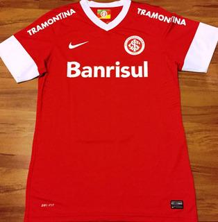 Camisa Internacional Rs Brasileiro 2013 De Jogo #9