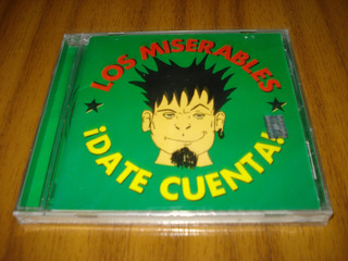 Cd Los Miserables / Date Cuenta (nuevo Y Sellado)