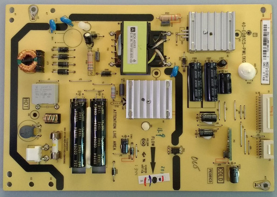 Placa Fonte Tv Semp Toshiba Le3264(a) Equivalente!