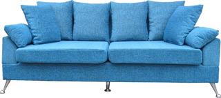 Sillón Sofa De Tres Cuerpos Cuerpos Chenill Premium.1,95