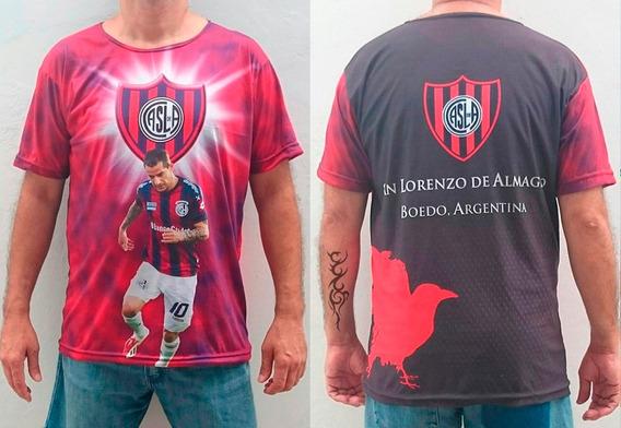 Camisetas De Futbol Estampadas. Remeras Hombre.
