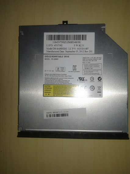Leitor De Dvd/cd Para Notebook Lenovo