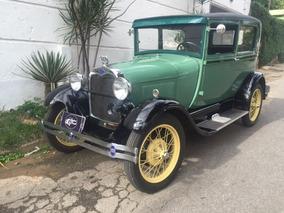 Ford Tudor 1929 Placa Preta Fordinho Coleção