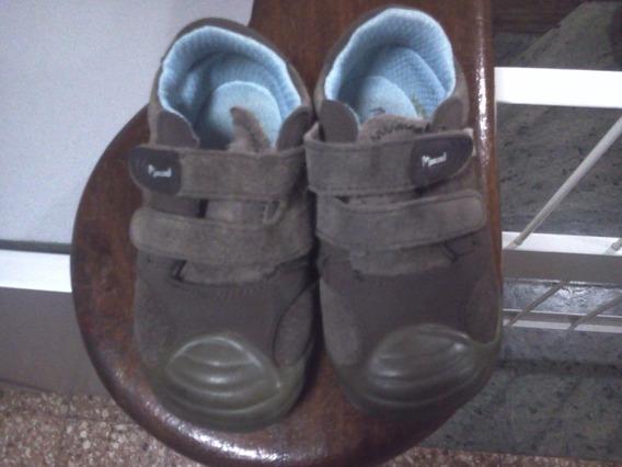 Zapatos Marcel Varon N°22 Nobuk Marrones C/ Abrojo