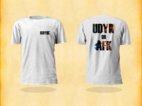 Camisa League Of Legends Udyr Or Afk Lol Cam002