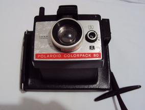 Antiga Fotográfica Polaroid Colorpack 80 Com Manual E Caixa