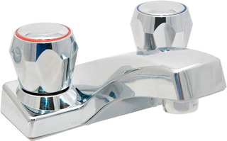 Llave Mezcladora De Baño Modelo Buho Mb1006 Silver