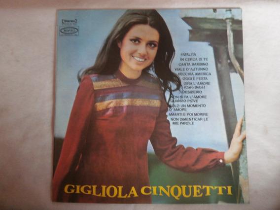 Lp Gigliola Cinquetti - Fatalitá, Disco Vinil 1972, Seminovo