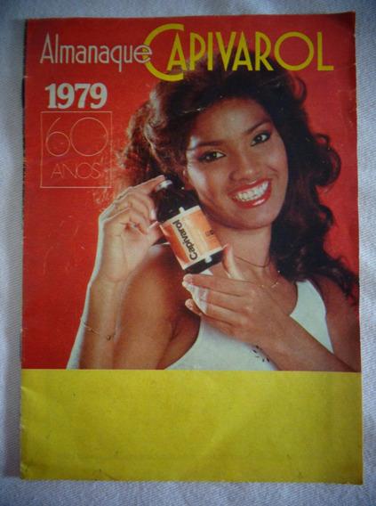 Almanaque Capivarol Propaganda Antiga 1979