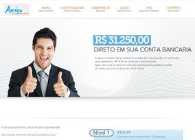 Site Mmn - Ajuda Mutua (marketing Multi Nível)
