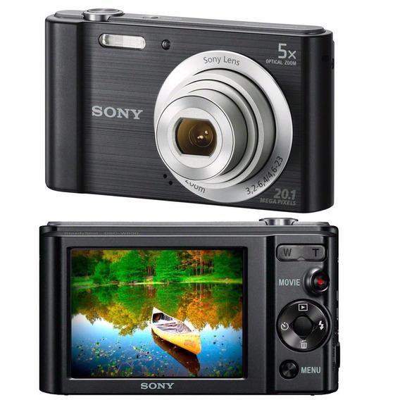 Camera Digital Sony Dsc-w800 20.1 Mpx Envio Imediato Nfe