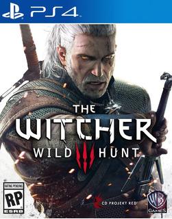 The Witcher 3 Wild Hunt - Psn Ps4 Original 1 - Dublado Pt Br