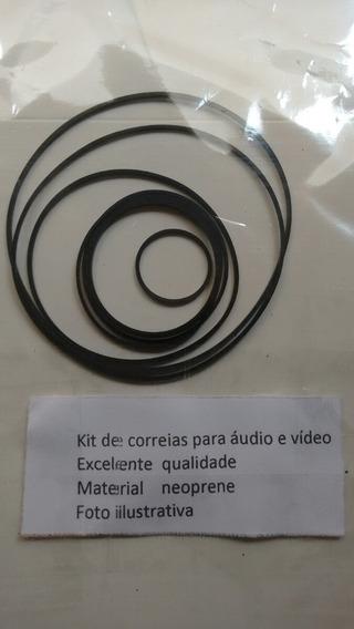 Kit De Correia Aiwa F9,f12,f15,f959 03 Cds Kit Com 02 Peças