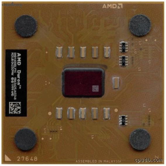 Processador 1.600 Mhz Amd Duron 462 Dhd1600dlv1c Usado@
