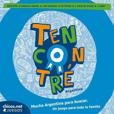 Juego De Mesa Didáctico Tencontré - Chicos.net Ediciones