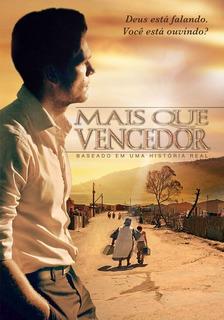 Dvd Mais Que Vencedor Gospel Graça Filmes Original