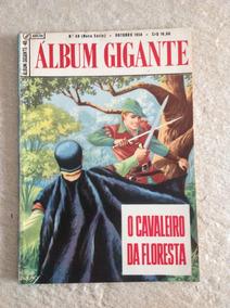 Gibi Hq Álbum Gigante Número 48 O Cavaleiro Da Floresta Ebal