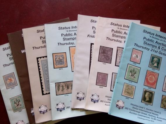 Catalogos De Las Subastas En Filatelia (australia) - 20 Num.