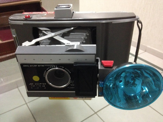 Rara Fabulosa Antiga Camera Fotográfica Polaroide Munddibr