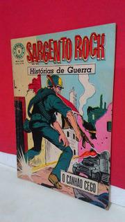 Hq Epopéia Ebal/1967 Sargento Rock Nº5 Histórias De Guerra !
