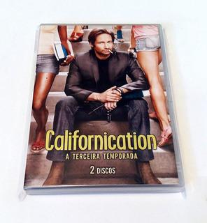 Dvds Originais Série Californication - 3a Temporada Completa
