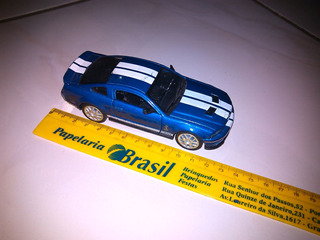 Miniatura Mustang Shelby Gt500 1/38 Aceito Troca