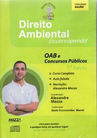 Cd Rom -direito Ambiental - Autor Prof. Alexandre Maz