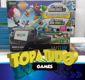 Nintendo Wii U Desbloqueado Com Hd 1tb +100 Loja Em Bh