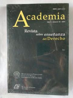 Academia Año 5 Nº 10 2007 Revista De Enseñanza Del Derecho
