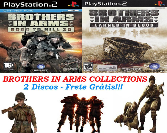 Brothers In Arms Collections - Playstation 2 Frete Gratis.