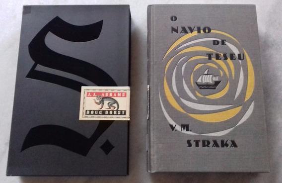 O Navio De Teseu - S - J J Abrams -livro De Colecionador (f)