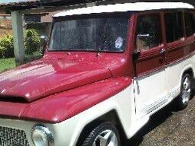 Rural Vermelho E Branco 1975 Venda E Troca