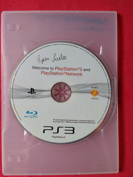 Welcome To Playstation 3 Somente Cd - Frete R$10