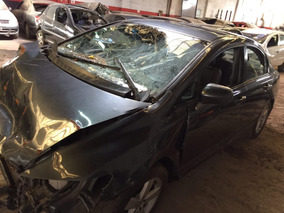 Honda Civic 2012 Elx Chocado De Frente Dado De Baja Total
