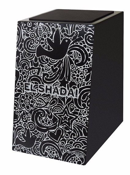 Cajon Liverpool Nirvana Microfonado Can004m Estamp El Shadai