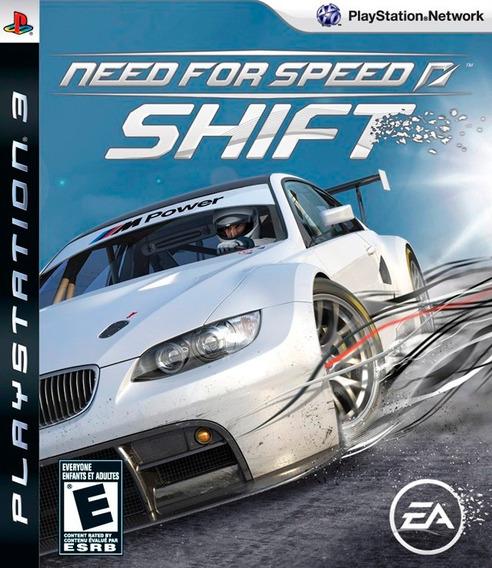 Jogo Need For Speed Shift Ps3 Mídia Física Frete Grátis Nfs
