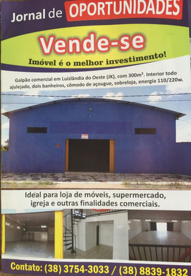 Imóvel Comercial/galpão/loja