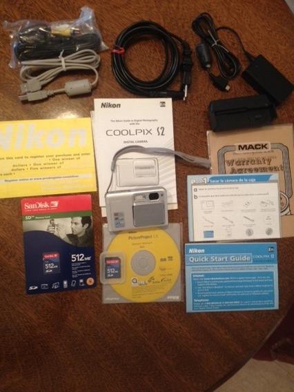 Nikon Coolpix S2 Cámara Digital - Preciosa- Bahía Blanca
