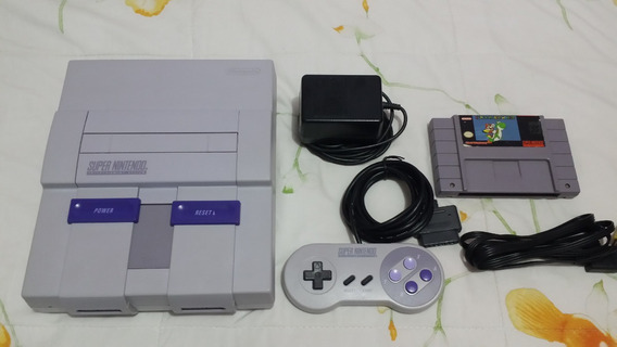 Super Nintendo + 1 Controle + Mario World Original..........