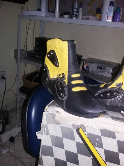 Sapato Masculino N. 40 Motoqueiro