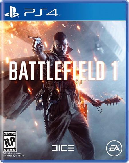 Jogo New Battlefield 1 Em Português Playstation Ps4 Ea Games