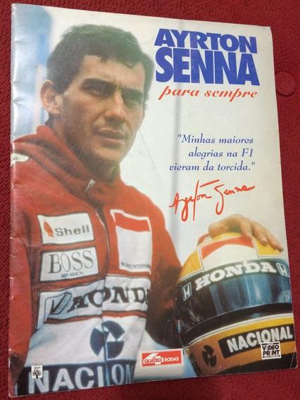 Revista Quatro Rodas Especial Ayrton Senna Campeão D Brasil