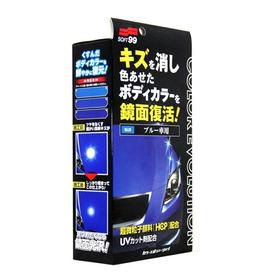 Cera Liquida Color Evolution Azul Soft99 100ml  Melhor Preço